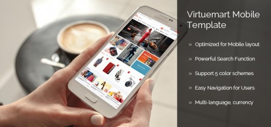Virtuemart Mobile Template