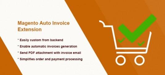 Magento Auto Invoice Extension
