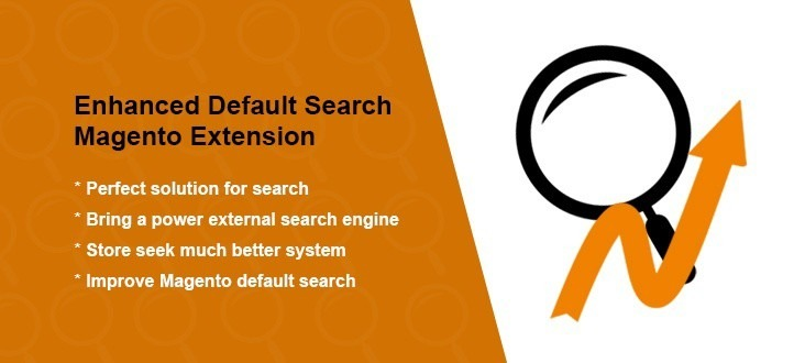 Enhanced Default Search Magento Extension