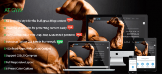 AT Gym – Fitness / Gym Responsive Joomla Template