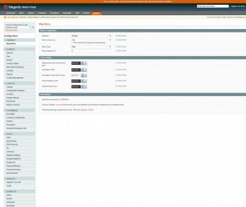 screenshots M2 MENU | Magento Mega Menu Extension Development