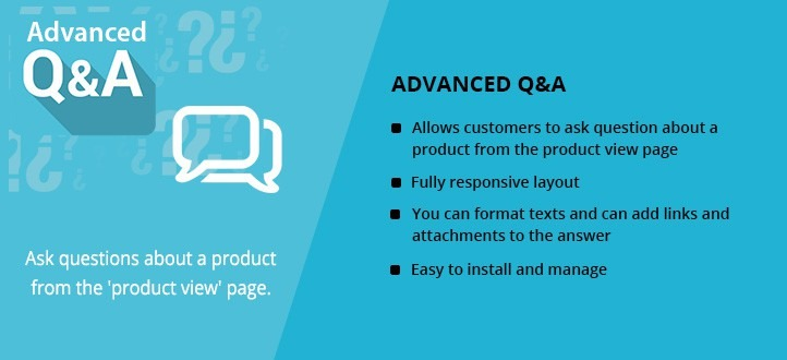 Advanced Product Q & A Extension