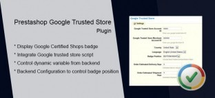 Prestashop Google Trusted Store Plugin