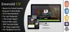 Emerald CV - Ultra-Customizable WordPress Resume Theme