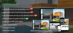 AT Real Estate – Responsive Real estate Joomla template