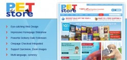 Petmart Virtuemart Template