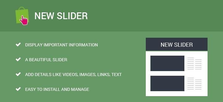 News Slider Prestashop Module