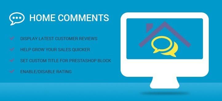 Home Comments Prestashop Module
