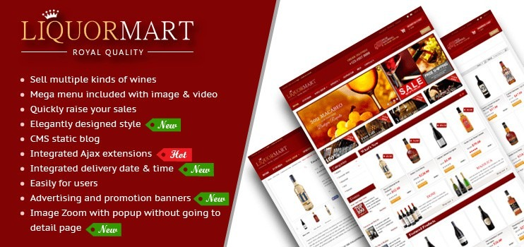 Wine Virtuemart Template