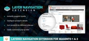 Magento Layered Navigation Extension