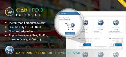 Virtuemart Cart Pro Extension