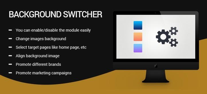 Background Switcher PrestaShop Module