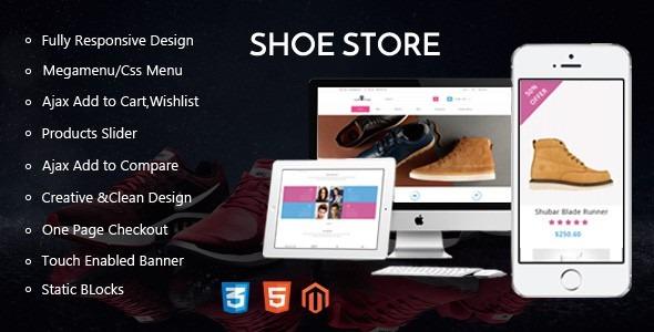 Shoe Store - Magento Responsive Theme