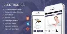 Electronics - Free Magento Responsive Theme