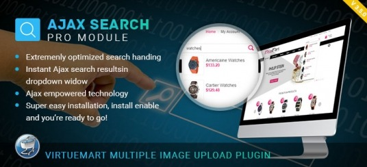 Virtuemart Ajax Search Pro Module