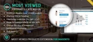 Magento Most Viewed Products Extension