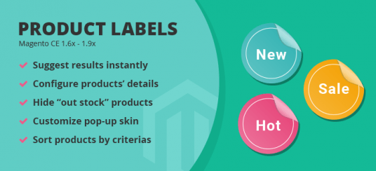 Magento Product Labels Extension