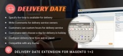 Magento Delivery Date Extension
