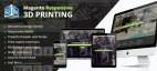Magento Responsive 3D Printing Website Theme