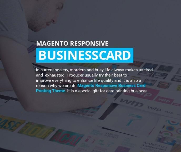Magento responsive business card printing website theme colourmoves