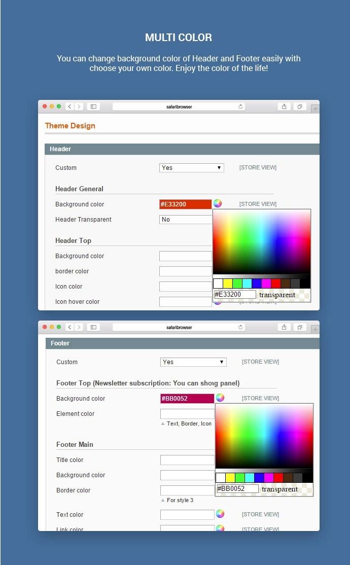 Magento Responsive Business Card Printing Website Theme