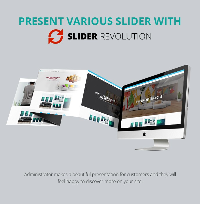 Magento Responsive Canvas & Wall Art Printing Website Theme