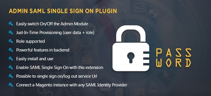 Admin SAML Single Sign On Magento Extension